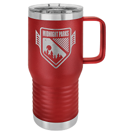 Insulated 20 oz. Travel Mug - Multiple Colors Available