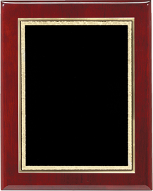 Rosewood Piano Finish Award Wall Plaque