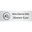 Alpha Gamma Delta Name Tag For Rush