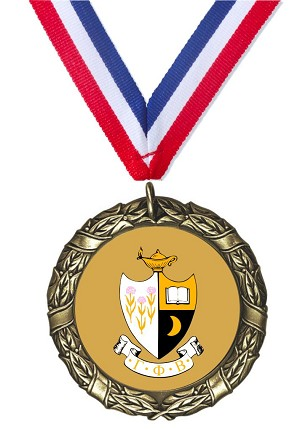 Custom Insert Medal For Gamma Phi Beta
